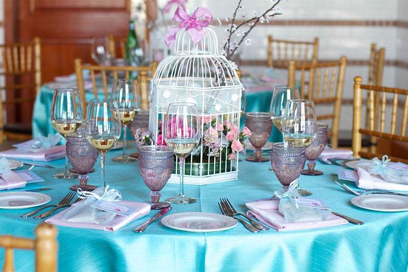 Những combo sắc màu tạo nên phiên bản hoàn hảo cho tiệc đám cưới chay